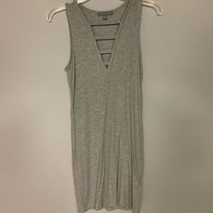 American Eagle Grey Dress